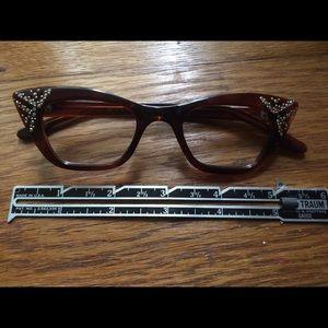 SRO Vintage Rhinestone eyeglass frames
